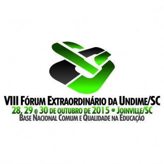 VIII Fórum Extraordinário da Undime-SC L SF