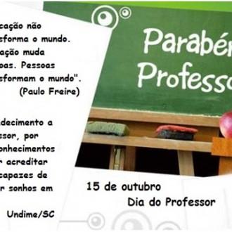 Banner Professor Undime