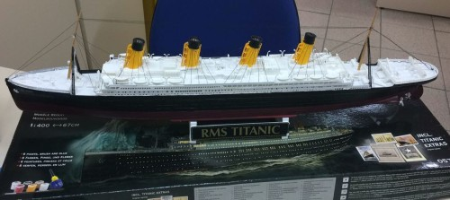 Maquete do Titanic